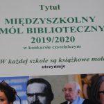 Międzyszkolny Mól Biblioteczny 2019/2020 - podsumowanie
