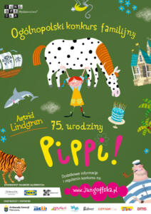 plakat 75.urodziny Pippi