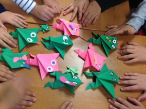 origami kosmidry